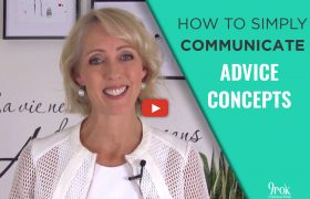 How to communicate advice concepts