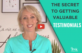 The secret to valuable testimonials - 9rok consulting