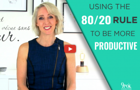 Using the 80 20 rule to be more productive