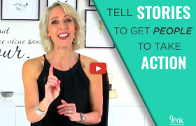You want people to take action – tell stories... here's why
