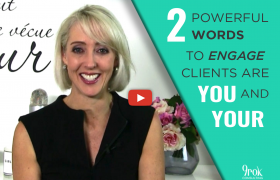 Two powerful words help clients realise it's all about them