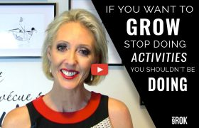 If you want to grow your business, stop doing activities you shouldn't be doing [VIDEO]
